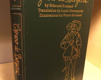 Easton Press Cyrano de Bergerac by Edmond Rostand 100 Greatest/ Famous Edition