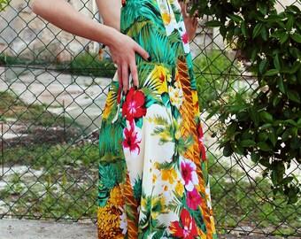 Floral dress viscose