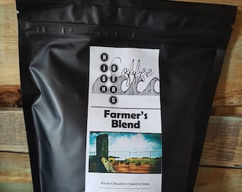 Coffee Beans, Farmers Blend, Fresh Roasted