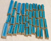 Blue Handmade Ceramic Mos...