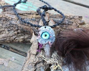 Zombie Black Quartz Crystaleye