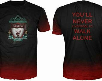 New ultramodern 3D  High Quality  Print Fans  short Sleeve t-shirt Liverpool
