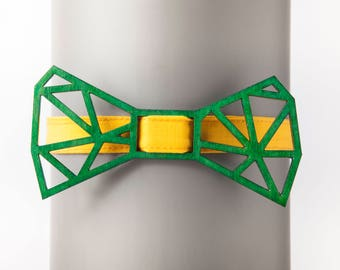 Architect Green Bow Tie