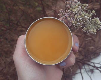 Sunshine Salve - Calendula, St. Johns Wort and Yarrow Beeswax Salve - For eczema care & Sensitive skin