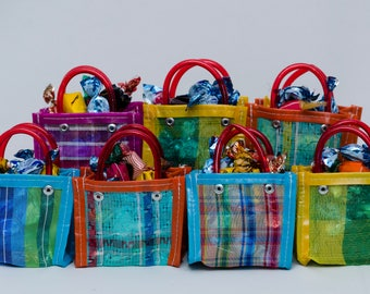 10 Mini bags, Mercado Bag, Party Favor