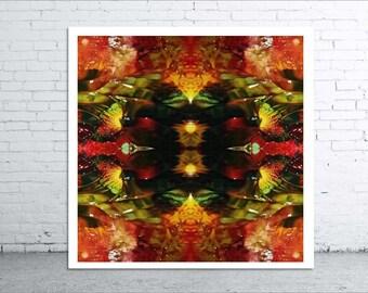 MIGRATION - 20x20cm Canvas