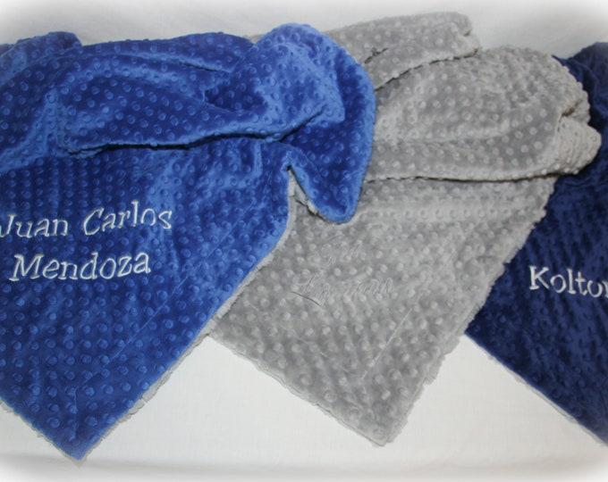Personalized Minky Blanket Toddler - Personalized Boy Blanket - Personalized Girl Blanket - Personalized Blanket for Kids - Sensory Blanket