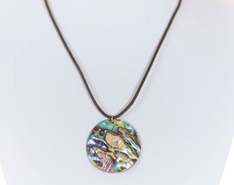 Abalone Pendant Necklace | IYS Summer Collection
