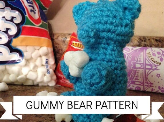 Easy Amigurumi Bear Pattern : Crochet gummy bear pattern amigurumi bear pattern easy crochet
