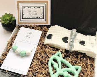 Shhh....! Foxy Mum & Baby BeBe Box® | Gift Box | New baby gift | Letterbox hamper | New Mum Gift |