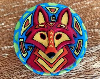 Incense Stick Holder / Burner - Red Fox Head