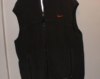 Vintage VTG Nike Green Fleece Vest