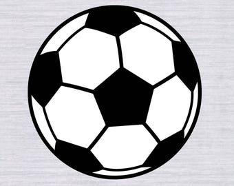 Soccer Ball Svg, Soccer Ball, Svg Files, Sports Svg, Silhouette Cut Files, Cricut Cut Files, soccer svg