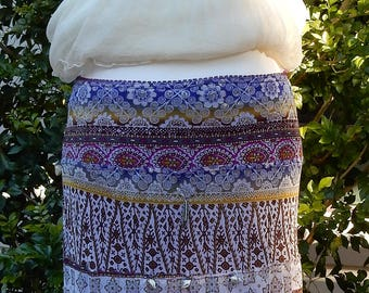 Gypsy Girl Bo Ho Chic Skirt