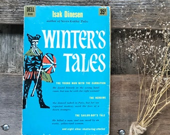 Vintage book Dinesen, Isak paperback of Winter's Tales  Perfect holiday/winter reading!