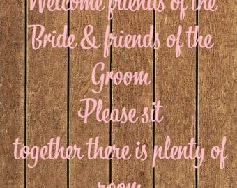 Rustic Wedding Welcome Sign *INSTANT DOWNLOAD*