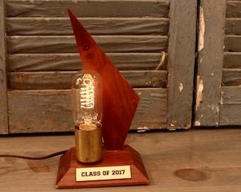 Trophy Lamp w/ Custom Plate