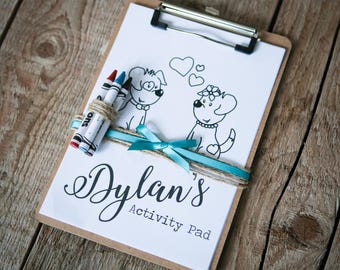 Personalised Children's Wedding Activity & Colouring Pad