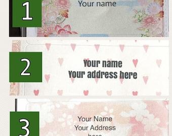 Custom Address Label stickers