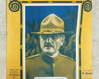Original French Magazine from WW1
