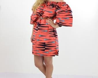 Ankara dress, dress African print African dress.