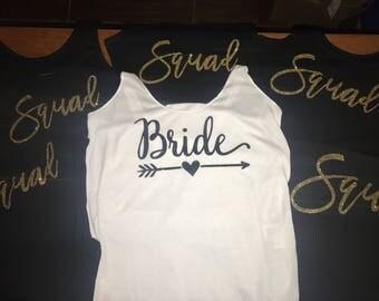 Bridal Bachelorette Tanks or Tees