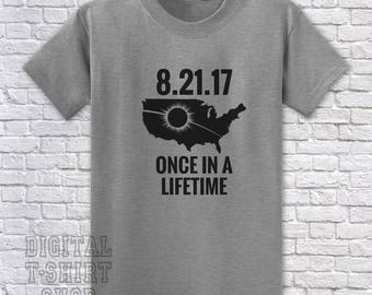 8.21.17 Once In A Lifetime T_shirt