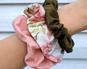 Scrunchie // scrunchies for mom // scrunchie set // hair Elastic // assorted scrunchies // assorted hair Elastic // fashionable hair Elastic