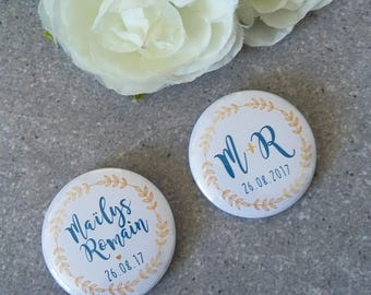 Badge wedding TRADITION