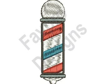 Barber Pole - Machine Embroidery Design