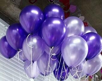 Pretty Purple, Pretty Lilac Balloons, Purple Balloon Mix, Lilac Balloons, Purple Balloons, 18 Balloon Kit