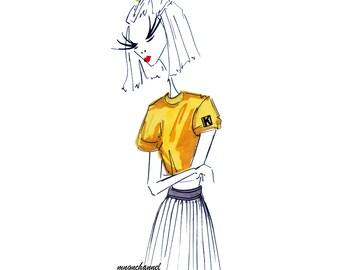 Illustration: childlike