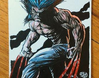 Wolverine Original Illustration