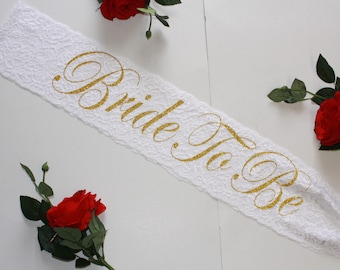 Bride to be Bridal Party Sash Bachelorette Personalized Plus Size Bachelorette sash Wedding sash Bridal sash Bridesmaid sash Bridal gift