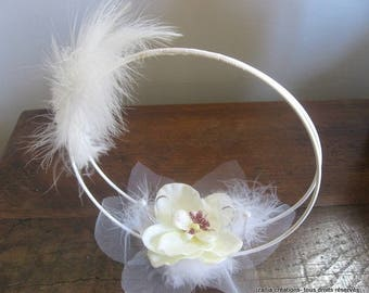 Creating original, elegant and sophisticated Orchid ring bearer