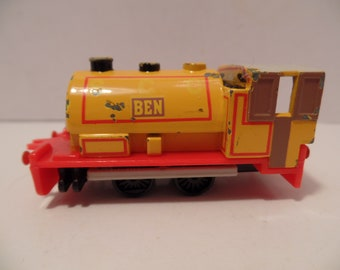 1991 BEN - Thomas The Tank Engine TRAIN (by ERTL) Diecast - Britt Allcroft