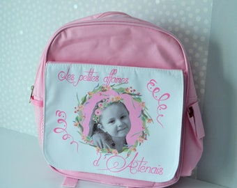 BACKPACK kids customized with or without photo