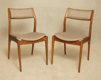 Mid-Century Polish Chairs GFM-110 by Edmund Homa