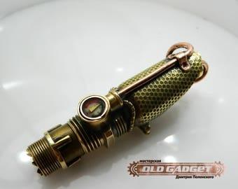 Steampunk USB flash drive , Radio lamp