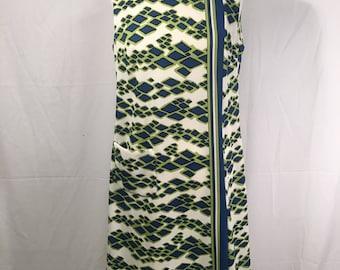 Vintage HENRY LEE Knit Style Sleek Line Dress