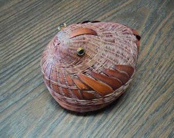 Chicken Wicker Basket