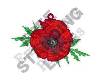 Poppy - Machine Embroidery Design