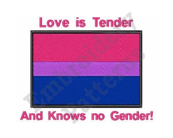 Love Is Tender - Machine Embroidery Design