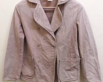 vintage LE GLAZIK blazer made in FRANCE