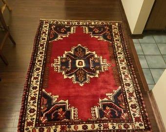 "Tafrish Vintage persian rug 3' × 5'1"""