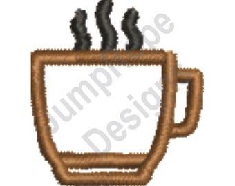 Machine Embroidery Design Fox Outline Immediate Download