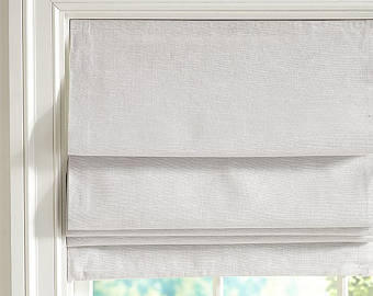 Private Listing for White Faux Roman Shades