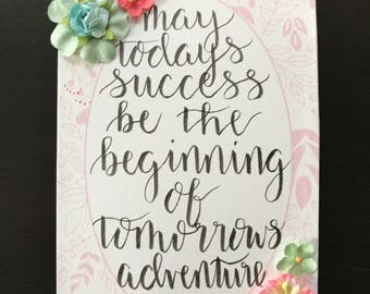 Success and adventure greeting card