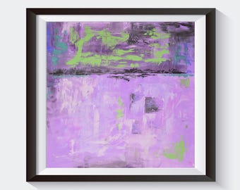 Printable Instant Download Of Original Abstract Acrylic Painting Purple Grey Black Violet PRINT Wall Art Home Decor Wall Hanging AU015P5