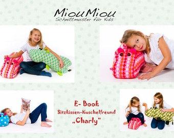 """MiouMiou Cut pattern Seat cushion """"Charly"""""""